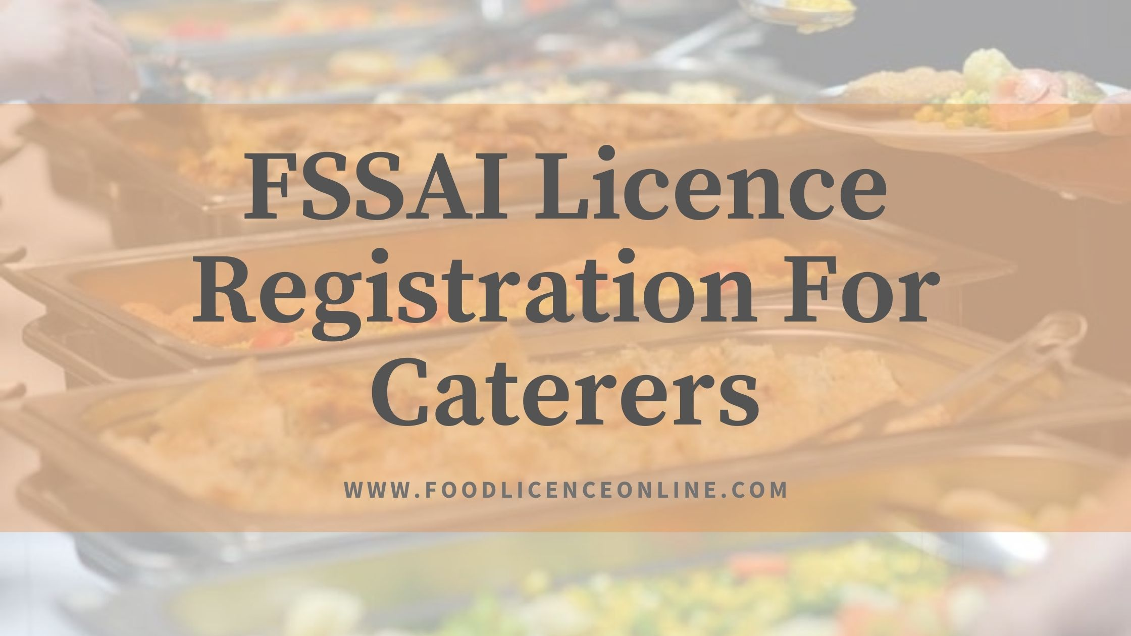 FSSAI Licence Registration For Caterers