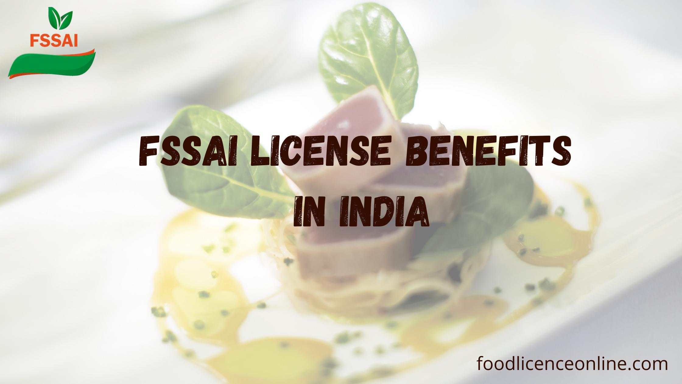 FSSAI Registration For Food Business Operator
