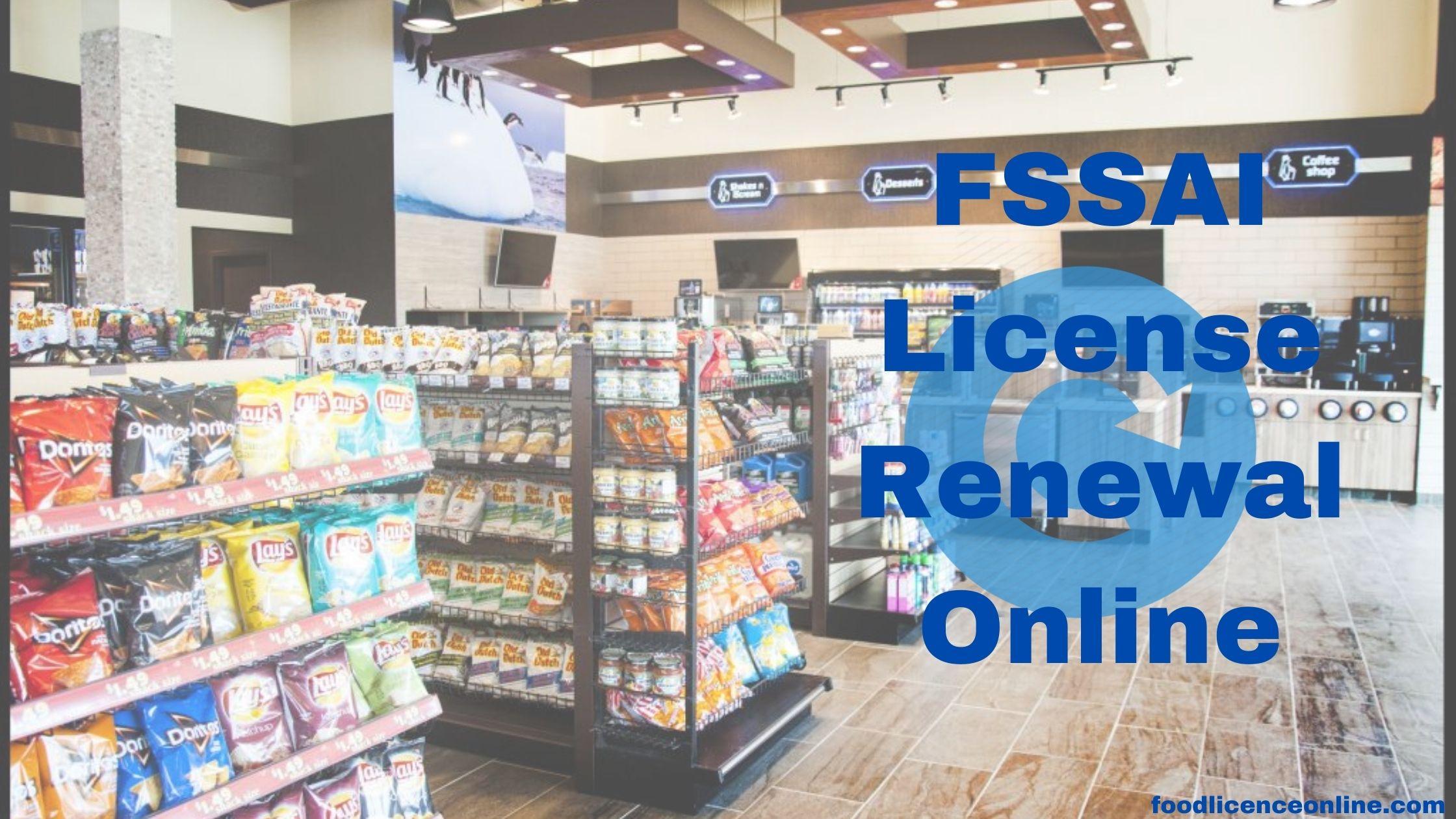 FSSAI License Renewal Online