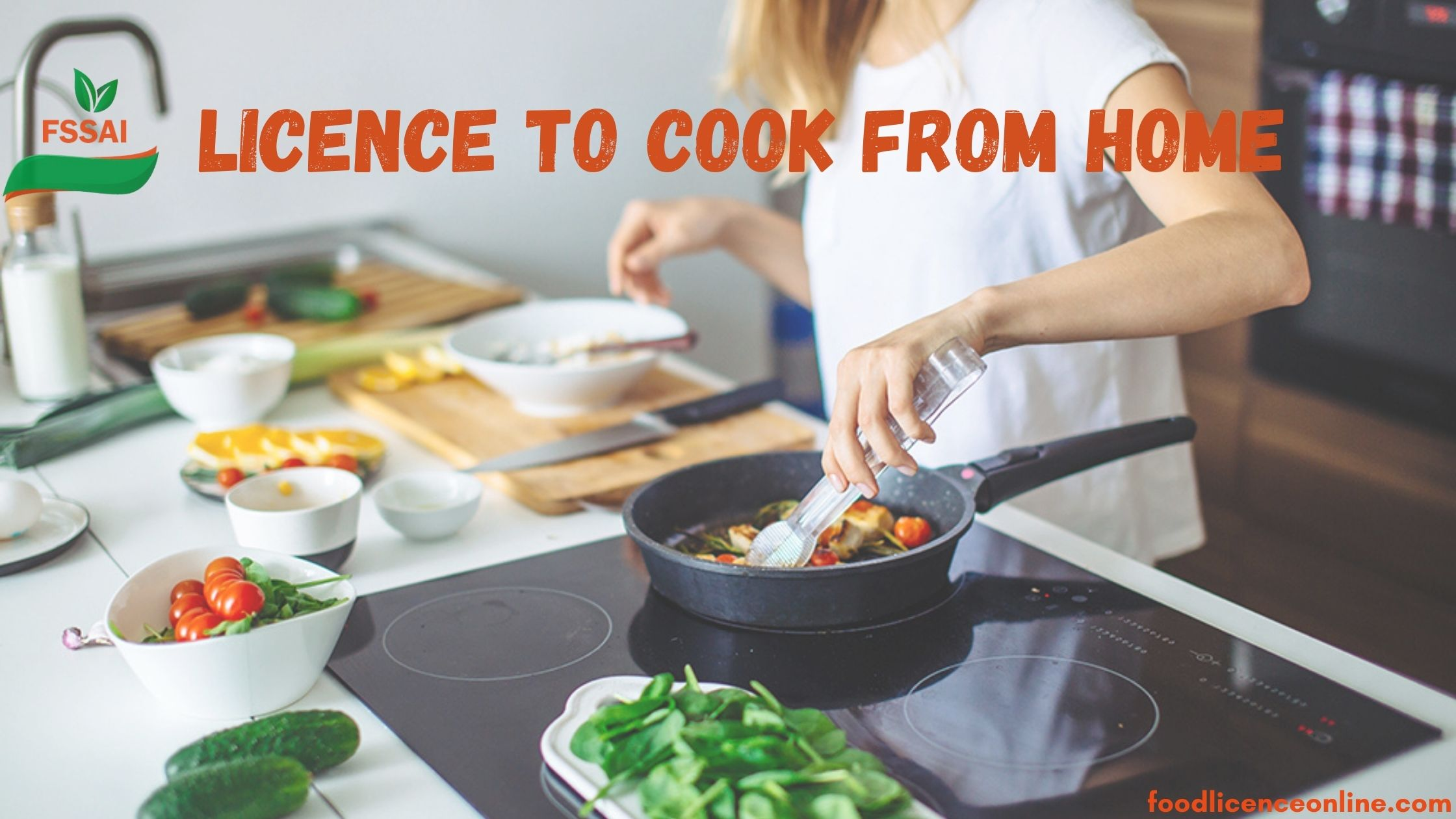 Licence to Cook From Home